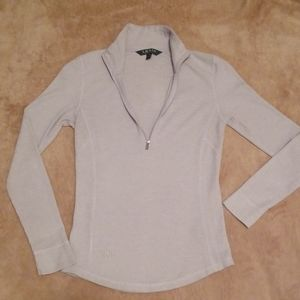 Ralph Lauren Thermal Henley Shirt Top